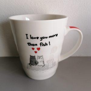 Drinkbeker katten en liefde