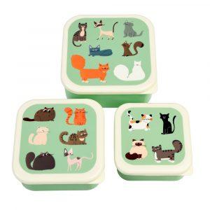 Set van 3 katten trommels