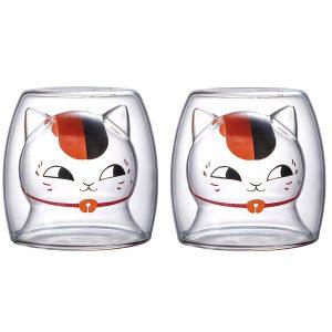 Katten glazen