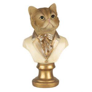 Borstbeeld rode kat