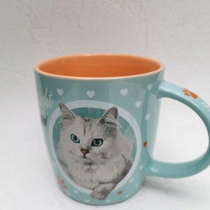 Drinkbeker catlover.