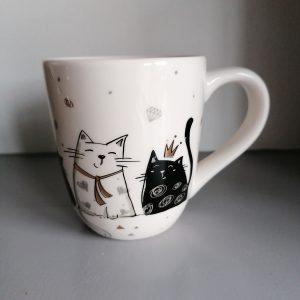 Drinkbeker katten.