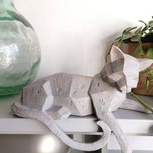 Kattenbeeld origami