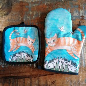 Pannenlap en ovenwant katten.