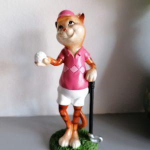 Kat die golft.