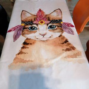 Tafelkleed kat.