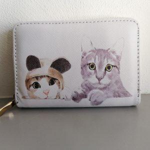 Katten portemonnee