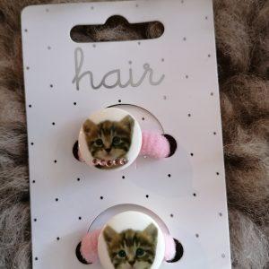 Haarelastiekjes katten