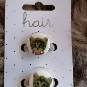 Haarelastiekjes kat