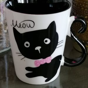 Drinkbeker kat