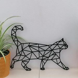Wandelende kat van hout