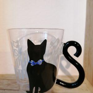 Katten drinkglas