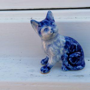 Miniatuur kattenbeeldje