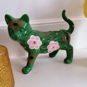 Kattenspaarpot keramiek
