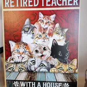 Wandbord katten