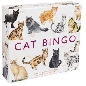 Katten bingo spel.