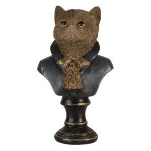 Borstbeeld kat