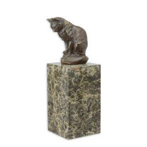 Bronzen kat