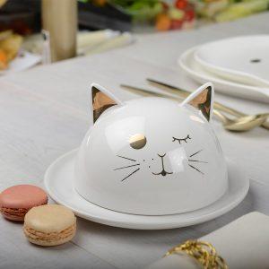 Koekjesschaal kat