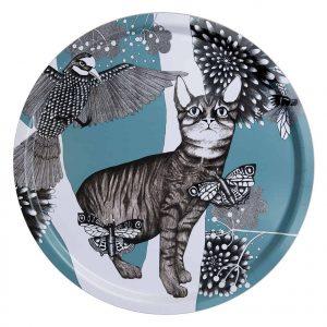 Dienblad kat