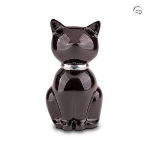 Urn zwarte kat