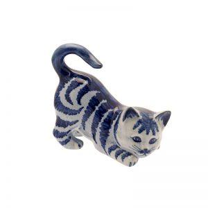 Kattenbeeld gestreepte kat.