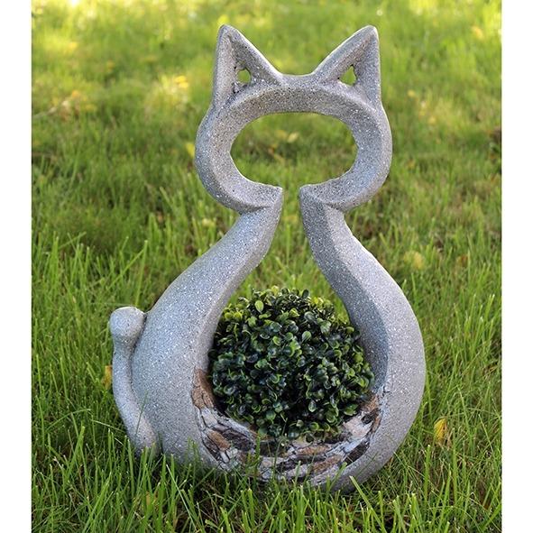 Plantenbak kat