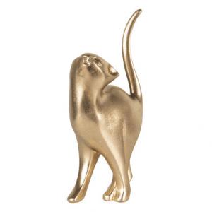 Poezenbeeld goud