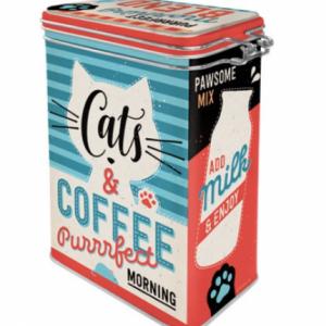 Bewaarblik-Cats-Coffee-Afsluitbaar