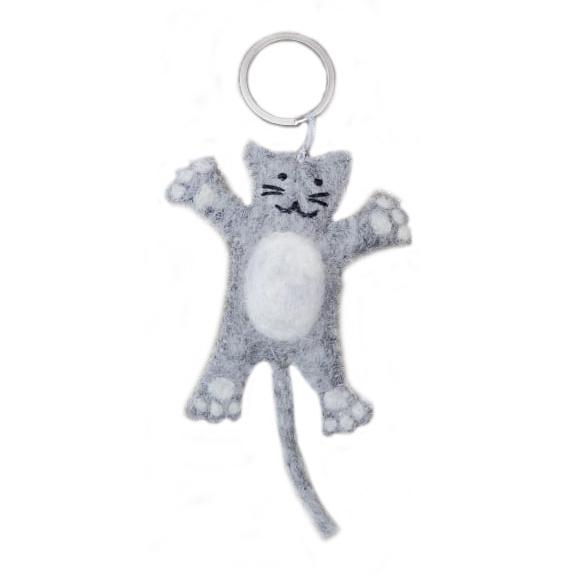 Sleutelhanger-Poes-Kat-Vilt